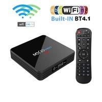 MX10 Pro 4GB DDR3 32GB eMMC Android 9.0 TV BOX RK3318 Quad Core 4K HDR 2.4G  5G WIFI USB 3.0 Set Top Box