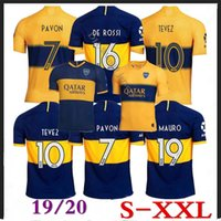 19 20 Boca Juniors DE ROSSI soccer Jersey Home Away 19 2020 ...