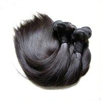 Cuticle originale Aligné Extension des cheveux vierges brésiliens 5 Bundles 500g Non transformé Human Cheveux Funle Tissue Couleur naturelle Coupée d'un donneur