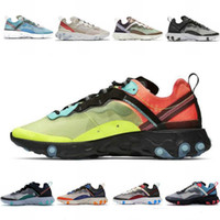 nike air max 87 2020 neue Element 87 Laufschuhe Herren SAIL Hyper Rosa Bred Medium Olive Sonnen Red ROYAL TINT Runner 87S Frauen Sports 7-11