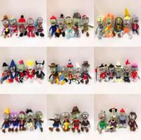37 Stil 23-28CM 12 '' Plants Vs Zombies weichen Plüsch-Spielzeug-Puppe Spiel Figur Statue Baby-Spielzeug für Kinder Geschenke jouets pour enfants Kinder Spielzeug