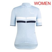 2021 Rapha Team Donne Donne in bicicletta Jersey Estate Quick Dry Manica corta MTB Bike Shirt Bike Bicycle Tops Outdoor Sports Uniform 022605