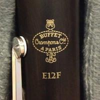 Buffé E12F Modell CRAMPON CLARINET PROFESSIONAL BB Klarinetter Bakelite 17 Nycklar Musikinstrument med fallmunstycke vass