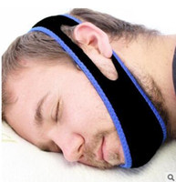 Blue Snore Stopper Adjustable The Anti- snore Jaw Guard Chin ...