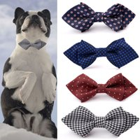 50Pcs Pack Dog Bow Tie with Elastic Strap Cute Knot Pet Acce...