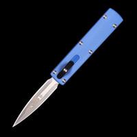 Zulu Rocket MINI MICRO-TECH UTX UTX-85 Faca automática ação automática facas de bolso faca tática D2 lâmina dobrável camping caça caça