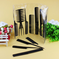 Tamax CB001 10pcs Set Hairbrush Massager Hair Styling Tool S...
