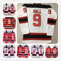 Barato 2017 New Jersey Devils Devils Hockey Jerseys 14 Adam Henrique 26 Patrik Elias 35 Schneide 4 Scott Stevens 9 Hall Stitched Uniforms Venda Quente