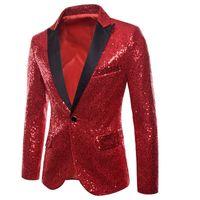 MoneRffi мужские блестящие пиджаки куртки блесток блеск костюм куртка мужчины ночной клуб DJ этап певица пиджаки свадьба пальто мужской