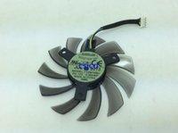 جيجابايت GTX770 GTX760 T128010SU 0.35A 12V أربع أسلاك مروحة بطاقة الرسومات تبديد الحرارة