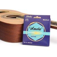 인청동 어쿠스틱 기타 문자열 문자열 NANOWEB 코팅 w 80/20 브론즈 어쿠스틱 기타 문자열, 엑스트라 라이트 (0.010-0.047)