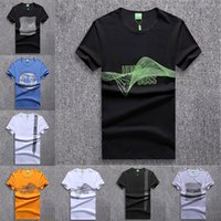 Mens Designer T Shirt Marca Lettera Tees Fahsion Pattern Maniche corte Casual Summer Printed Tops T-shirt 2019 Nuovi Mens Clothes 12 Style
