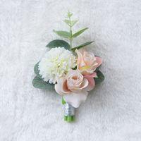 Ebedi Melek D520 Düğün Dekorasyon Göğüs Çiçek Bilek Çiçek Toptan Tatil Hediye Damat Korsanları