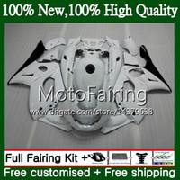 Karosserie für YAMAHA YZF600R Thundercat 96 97 98 weiß glänzend 99 00 01 86MF13 YZF-600R YZF 600R 1996 1997 1999 1999 2000 Verkleidung Karosserie