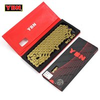 YBN 11 Speed Bicycle Chain SLA H11- TIG Gold Titanium coating...