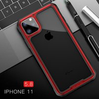 Luxury Shockproof Silicone Airbag Transparent Case For iPhon...