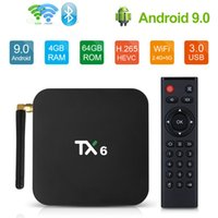 TX6 Android 9. 0 TV Box With Allwinner H6 Quad core 4GB 64GB ...