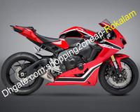För Honda Fairings 2017 2018 2019 CBR1000RR 17 18 19 Röd svart vit autorbike fairing (formsprutning)