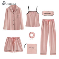 JRMISSLI Pink Sleep Pyjamas Women Pajamas Pajamas Sets Woman...