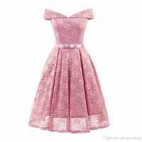 S-2XL Solid Color See Through Summer Dress Elegant Sashes Short Ball Gown V Neck Women Party Dress Lace Vintage Dress fs4033