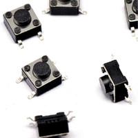 100 PCS 6 * 6 * 4,1 ~ 11,5 mm interruptor tato 4 pinos série interruptor remendo micro botão Tactile interruptor de indução Push Button 6x6