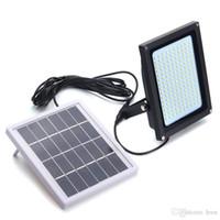150 Прожектор Солнечный свет 3528 SMD солнечных батареях Светодиодный прожектор Датчик Открытый Сад Безопасность Стена 8W