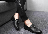 office loafers mens shoes formal mens dress shoes leather cr...