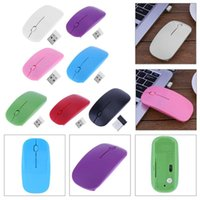 7 Candy Color 2. 4GHz 1000 DPI 3- Button Ultra Thin Usb Wirele...