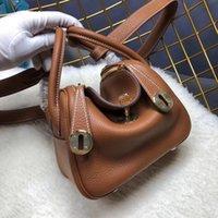 qualidade 20 centímetros Top Mulheres Tote couro de bezerro Genuine Mini Moda Bolsas mulheres bolsa 2020 Lady Bolsa de Ombro Fábrica de atacado
