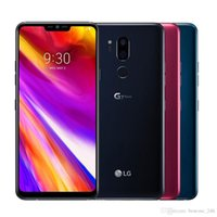 """Groothandel ontgrendeld LG G7 ThinQ G710EM G710 64G 4G Snapdragon 845 LTE Android 8.0 Octa Core Achter Camera Dual 16MP 6.1 """"Mobiele telefoon"""