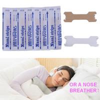 New 50 Count Nasal Strips Patch anti russare Breath Breath migliora la ventilazione nasale per ridurre il russare