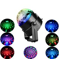 El partido enciende la bola de discoteca de luz estroboscópica de sonido activado lámpara de proyección de láser Efecto con mando a distancia Dj Lighs de Inicio Partes de DJ Bar
