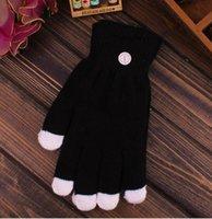 Kinder führten Handschuhe Halloween Weihnachten Cosplay LED-Finger-Fackel Beleuchtung Glow Neuheit Handschuhe für Stab-Partei Cosplay Kostüm Dekoration prop
