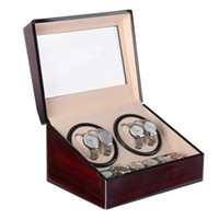 New 4+ 6 Automatic Mechanical Watch Box High Class Motor Shak...
