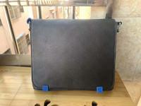 High-end Erkekler Marka Ünlü 866 Klasik Tasarımcı Moda Omuz Messenger Okul Çapraz Mavi Yeni Çanta Bookbag Varış Çanta Vücut Qu EFJS