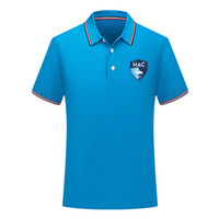erkekler le havre Futbol Polo gömlek Futbol kısa kollu polo gömlek yaz moda gömlek eğitim Polo Gömlekler spor futbol forması erkek Polos