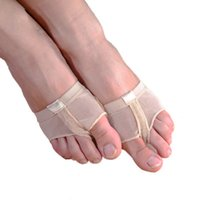 Belly Belly Professional Dance Toe Pad Pract Pretty Socks Shoes Protection Dance Socks Pie Thongs Pie Care Herramienta