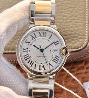 De calidad superior casuales para hombre del reloj W69009Z3 Esfera Blanca 42mm 36mm 33mm Fecha de acero inoxidable Correa de pulsera hombre reloj automático