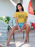 OKOUFEN Nouveau Mode Quentin Tarantino T-shirt Casual Manches Courtes Femmes Top Tee Lettre Imprimer Femme Femme T Shirt Drop Ship