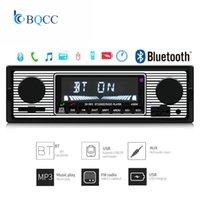 Autoradio Bluetooth 1 DIN CAR Radio Vintage Auto Stereo MP3-Player USB AUX SD Classic Audio