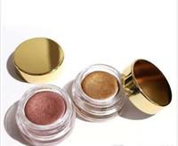 Stok Sıcak Markalı Krem Göz Farı Doğum Editon Rose Gold Bakır için Parlak pigmentli Tek Göz Farı Makyaj Ücretsiz e-paket Dropshipping