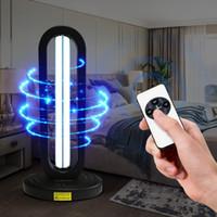 220V telecomando ultravioletta sterilizzazione lampada UV 38W disinfezione chiara di alta Ozone UVC germicida lampada con portalampada