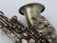 Caso Giappone KUNO KSC-901 Nuovo B flat Curved Sassofono Soprano rame antico con boccaglio e tutti gli accessori