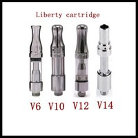 100% autêntico ITUERWA Amigo Liberty Tank Cartuchos V6 V10 V12 V12 V14 Cartuchos Vape Cerâmica para Max Komodo C5 Vmod Bateria