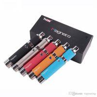 Хвастливый Yocan Магнето Kit Clone 1100mAh батареи Магнитная катушка крышка Встроенный силиконовый Jar Ceramic Coil Vapor Pen Модернизированный Evolve Plus 1