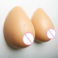 Silicone Breast Forms Concave Bra Enhancer Inserts Mastectom...