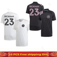 2020 Интер Майами Socer Jersey 2021 Home Beckham 20 21 Julián Carranza Ben Пот Pellegrini MLS Официальный шрифт Новый Miami CF футбольные рубашки