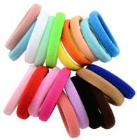 4.3cm 20pcs / lot enfants Accessoires pour cheveux Bandeaux élastiques Girls Bandeaux Rubber Band de gomme pour les accessoires de cheveux pour WOM