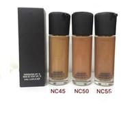 В штоке Makeup MC высокого качества Foundation SPF 15 Face Foundation 35мл DHL освобождает перевозку груза