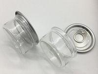 100ml 3.5g Plastik Kalay Kutular sigara kavanoz Kuru Ot Flowers Sızdırmazlık Kapak Kapak Mühürlü öncesi özel tasarım OEM Preslenmiş